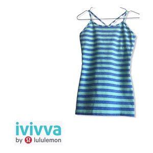 Ivivva Striped Tumblin Y Racerback Tank Top 14